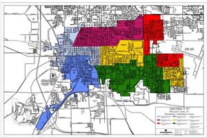 District 87 Boundary Map