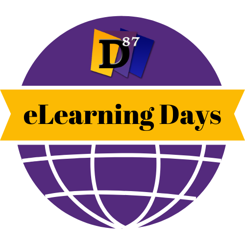d87 elearning day logo